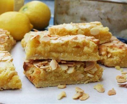 Lemon Coconut Almond Bars